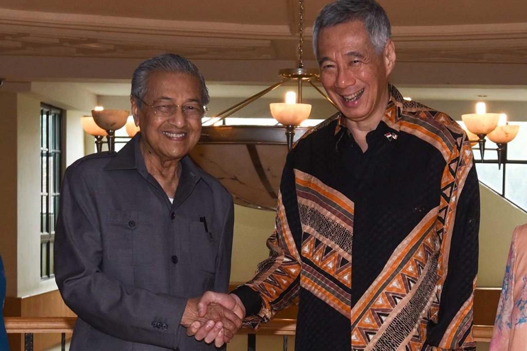 PM Singapura Kunjungi Mahathir