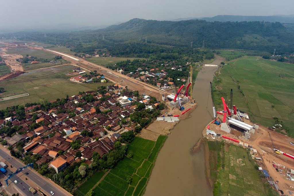 Jembatan Kali Kuto Ditargetkan Dapat Dipakai pada Arus Mudik