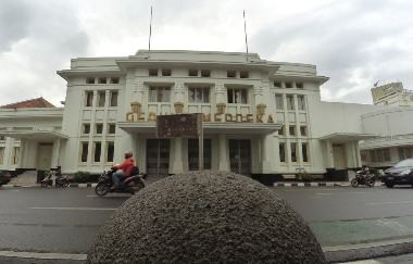 Gedung Merdeka, Kota Bandung, Jawa barat. (MI/Agung Wibowo)