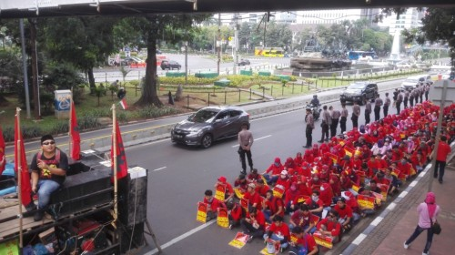 400 orang akan menyerbu Istana - Medcom.id/Suci Sedya Utami.