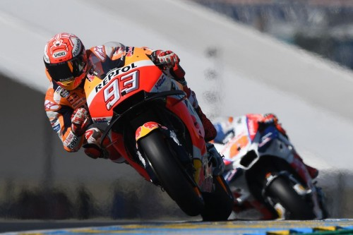 Pembalap Repsol Honda Marc Marquez (Foto: AFP PHOTO /