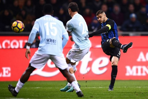 Pertandingan Lazio kontra Inter Milan (AFP PHOTO / MARCO