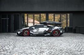 Lamborghini Huracan 'Si Monster Salju' ala Jon Olsson