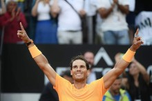 Rafael Nadal Berjaya di Turnamen Italia Terbuka