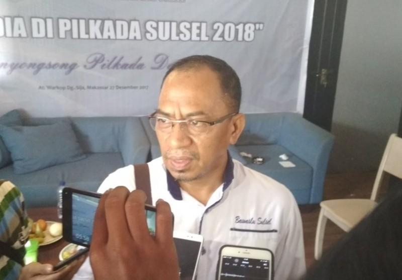 Ketua Bawaslu Sulsel Laode Arumahi