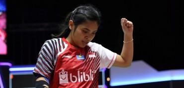 Gregoria Mariska Bawa Indonesia Unggul 2-1 Atas Malaysia