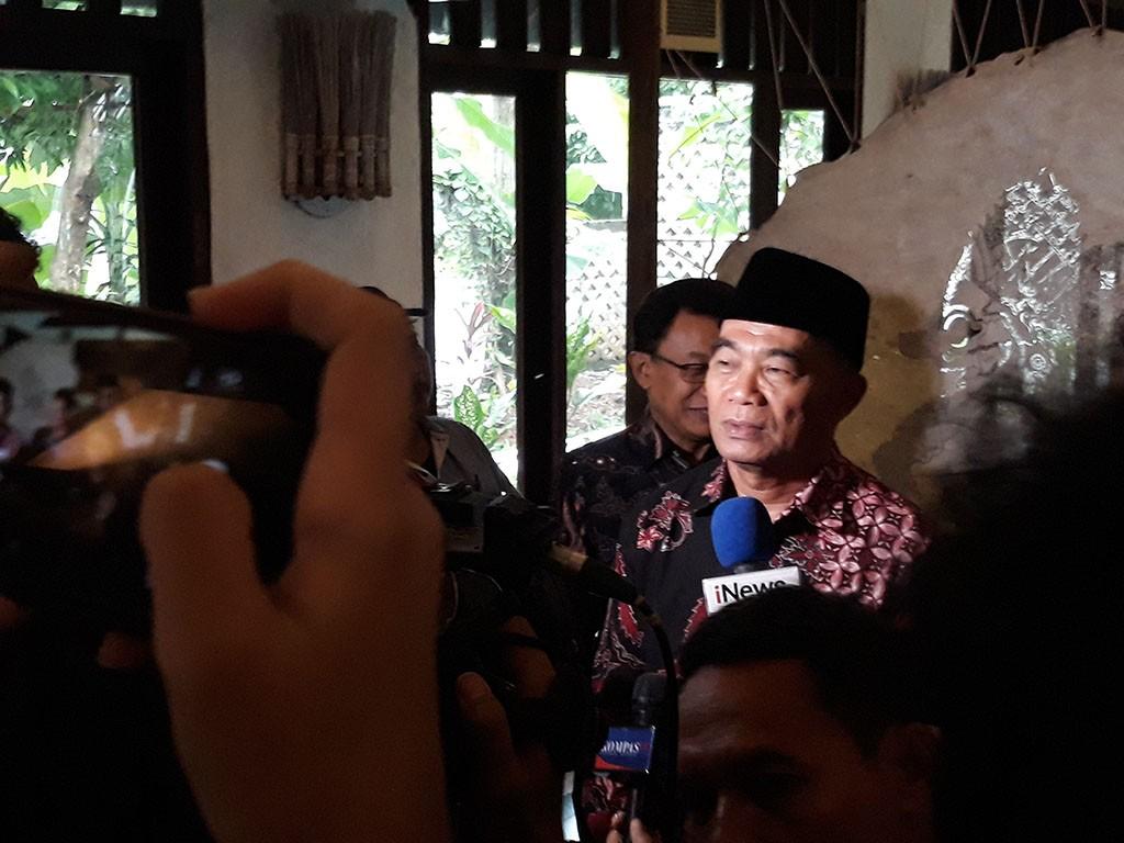 Menteri Pendidikan dan Kebudayaan, Muhadjir Effendy.  Foto: Medcom.id/Citra Larasati.