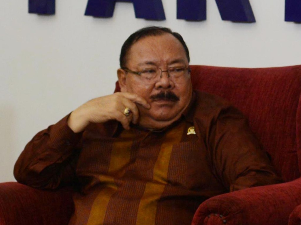 Wakil Ketua Pansus revisi Undang-Undang Terorisme Mayjen (Purn) Supiadin Aries Saputra. (Foto: MI/Mohamad Irfan).