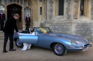 Intip Spek Jaguar Tunggangan Pangeran Harry
