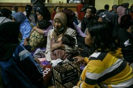 Puluhan Warga Lereng Merapi Masih Mengungsi