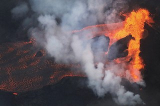 Lava Gunung Kilauea Ancam Pembangkit Panas Bumi Hawaii