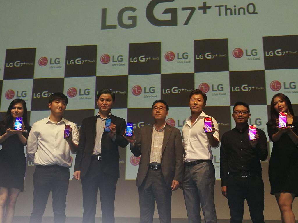 LG merilis smartphone terbarunya tahun ini di Indonesia yakni LG G7+ ThinQ.