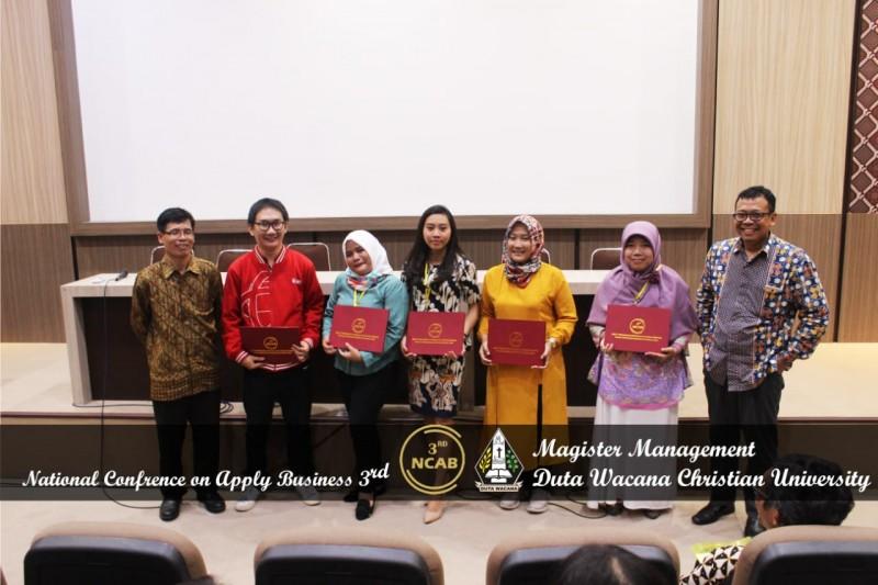 Dalam NCAB 3rd ini, terpilih lima pemakalah terbaik dari masing-masing kategori. (Foto: Dok. DPR)