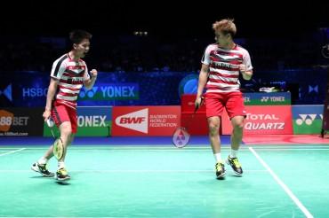 Indonesia Turunkan Kevin/Marcus untuk Hadapi Thailand
