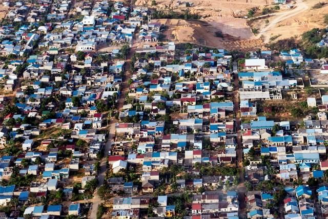 Pemukiman padat di Tanjung Pinang, Kepulauan Riau. file/Antara Foto/Agung Rajasa