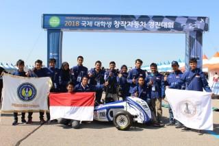 Mobil Karya Mahasiswa UNY Berjaya di Korea Selatan