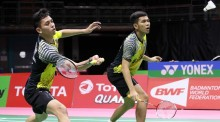 Rian/Fajar Pastikan Tiket Perempat Final Thomas Cup