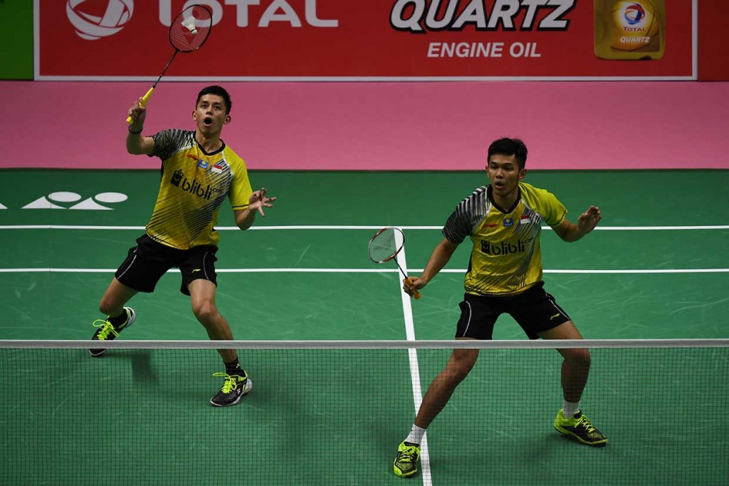 Tim Thomas Indonesia Tundukkan Thailand 4-1