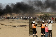 Israel Serang Gaza saat Warga Bersiap Sahur