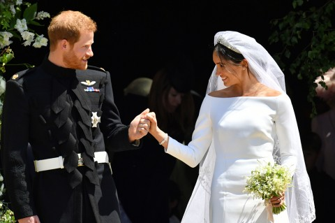 Pangeran Harry dan Meghan Markle (AFP/Andrew Matthews)