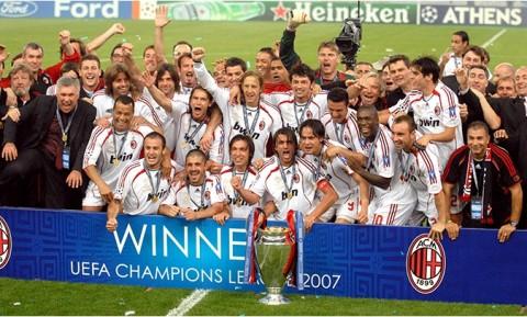 2007: AC Milan Genggam Trofi Ketujuh Liga Champions