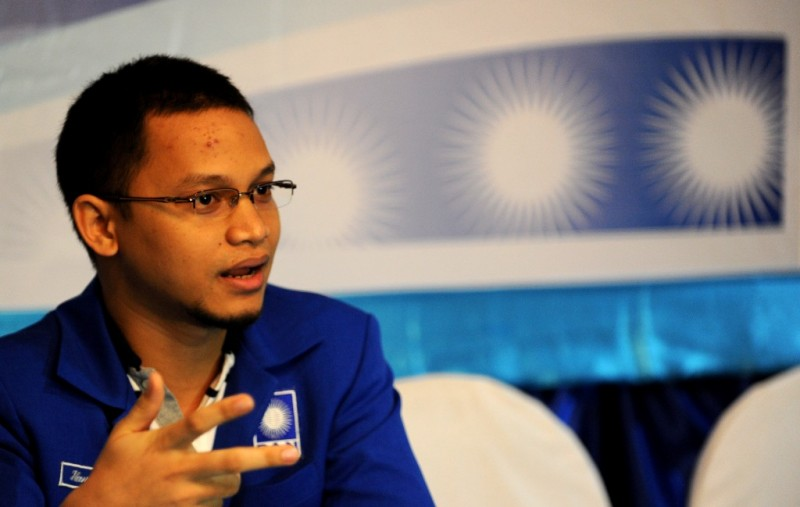 Wakil Ketua Pansus RUU Terorisme Hanafi Rais. (Foto: ANTARA/Ismar Patrizki)