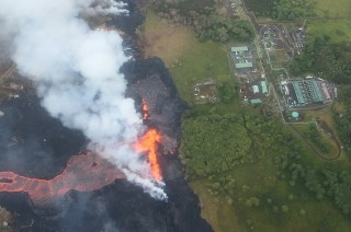 Lava Gunung Kilauea Terus Dekati Pembangkit Listrik Hawaii
