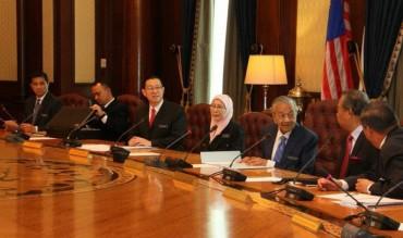 Mahathir Pimpin Rapat Pertama Kabinet