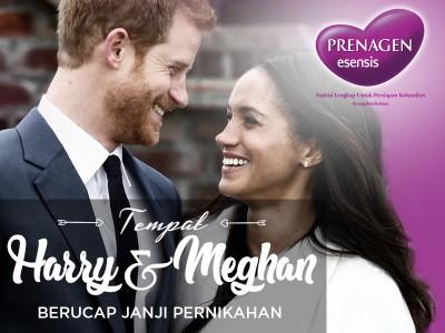 Tempat Harry dan Meghan Berucap Janji Pernikahan