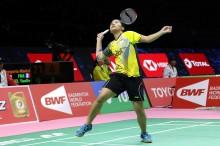 Gregoria Tunda Kemenangan Tiongkok atas Indonesia