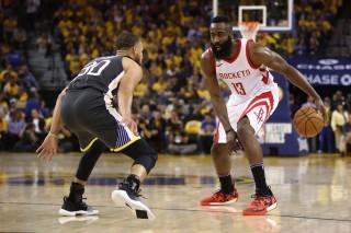 Sengit, Rockets Menang Tipis dari Warriors pada Game Keempat