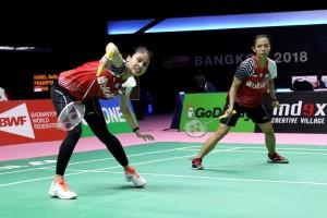 Della/Rizki tak Berdaya, Indonesia Takluk dari Tiongkok
