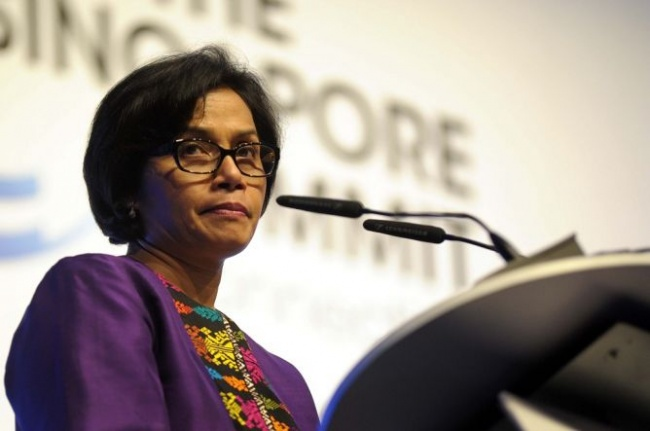 Menteri Keuangan Sri Mulyani/MTVN