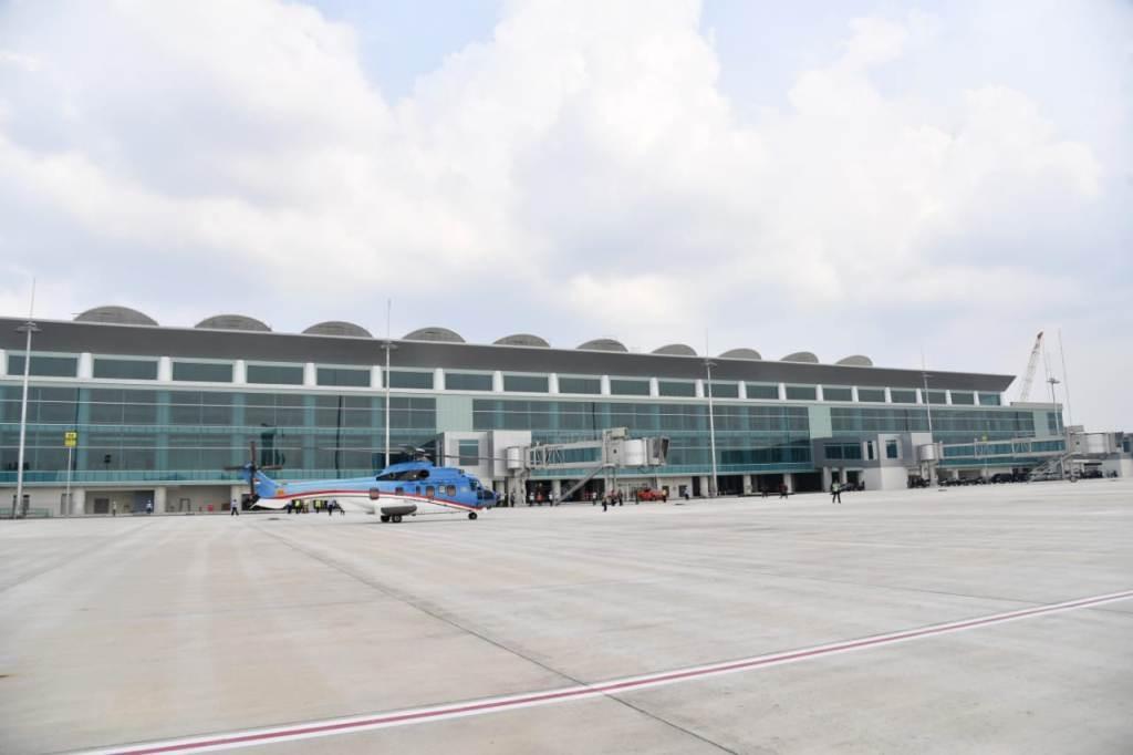 Proyek pembangunan Bandara Internasional Jawa Barat (BIJB). Foto Istimewa