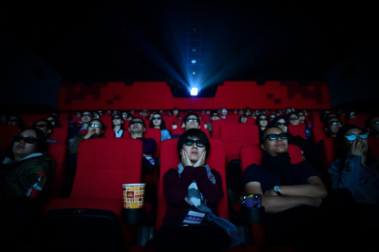 China's movie market made more than 20 billion yuan between January and March, according to Chinese box office figures. (Photo:AFP/Wang Zhao)