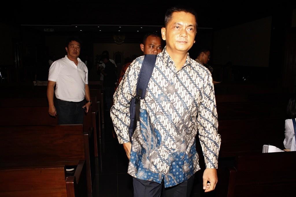 Direktur Utama PT Sarana Bangun Nusantara (SBN), Hasmun Hamzah - MI/Bary Fathahilah.