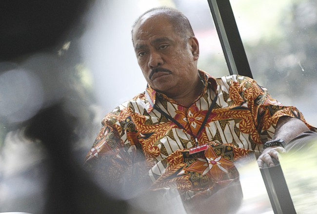 Ketua Komisi XI  Melchias Marcus Mekeng . ANT/Widodo J Susuf.