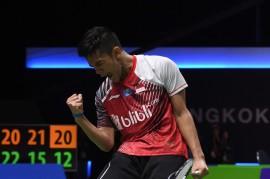 Kalahkan Korsel, Indonesia Juara Grup B Piala Thomas