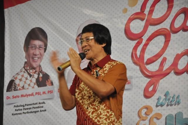 Ketua Lembaga Perlindungan Anak Indonesia, Seto Mulyadi atau dikenal Kak Seto. Foto: MI/Benny Bastiandy