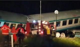 Truk Dihantam Kereta, Dua Orang Tewas di Italia
