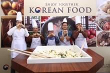 Nikmati Berbagai Makanan Korea (K-Food) di Jakarta Fair 2018