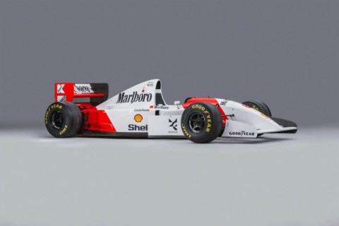 Mobil F1 Bekas Ayrton Senna, Terjual Rp68 Miliar