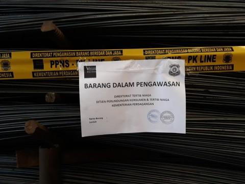 Pabrik Baja di Tangerang Digerebek