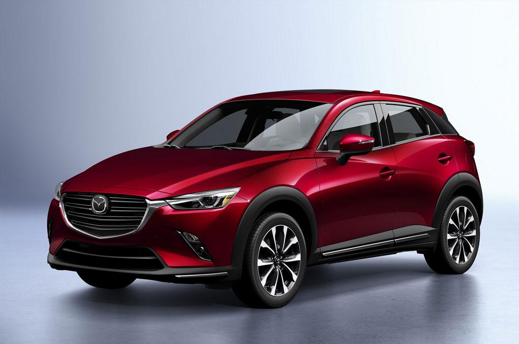 New Mazda CX-3 tampil perdana di New York Auto Show 2018. Mazda