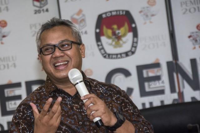 Ketua Komisi Pemilihan Umum (KPU) RI Arief Budiman. Foto: Antara/Aprillio Akbar.