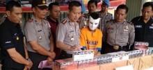 Polisi Sita Ribuan Batang Rokok Ilegal