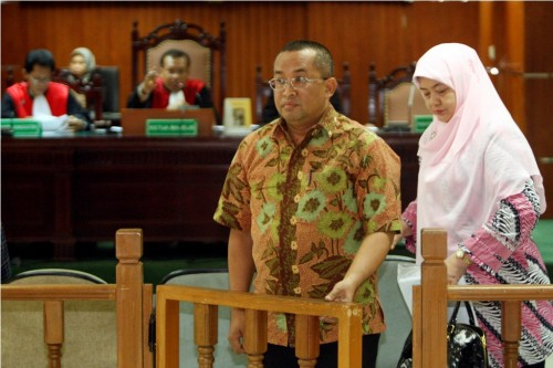 Wakil Bupati Tapanuli Tengah Sukran Jamilan Tanjung. Antara