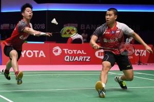 Marcus/Kevin Bawa Indonesia Samakan Angka Malaysia
