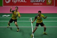 Fajar/Rian Bawa Tim Thomas Tembus Semifinal
