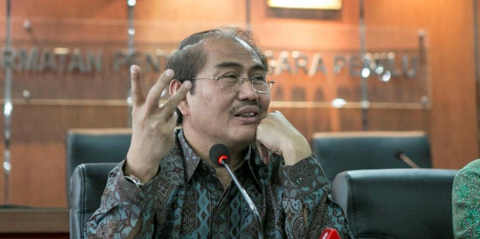 Ketua Ikatan Cendekiawan Muslim Indonesia (ICMI) Jimly Asshiddiqie. Foto: MI/Atet Pramadia